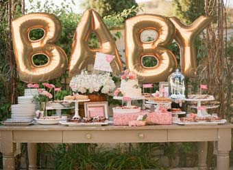 Baby shower banquet