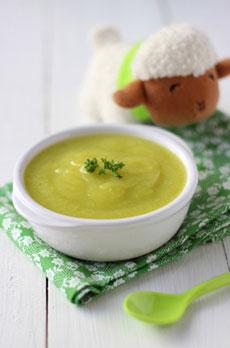 Bol de soupe pour bébé