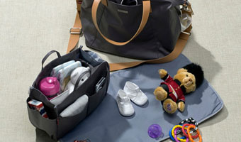 Que faut-il mettre dans un sac à langer ?