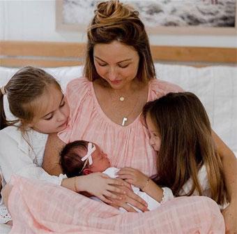 Maman et ses 3 enfants
